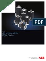 AC Servo Motors - BSM Series