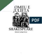 Shakespeare Romeuejulieta