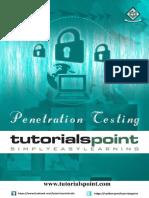 Penetration Testing Tutorial