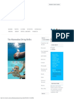 Freedive Earth - The Mammalian Diving Reflex