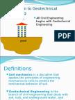 Geotechnical Presentation