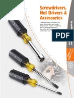 07 Screwdrivers NutDrivers Catalog