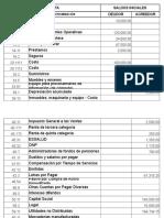 Balance de Comprobacion - Estados Financieros
