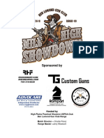 2017 mile high showdown match book
