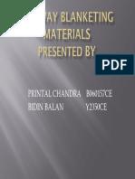Railway Blanketing Materials