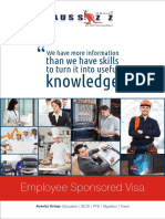 AUS Work Visa guide
