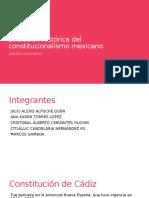 Evolución Histórica Del Constitucionalismo Mexicano