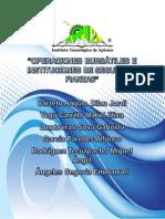 Operaciones Bursatiles e Instituciones de Seguros y Fianzas