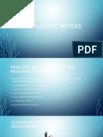 Basic Electric Meters