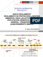 Sgsm Ppt Reglamento Ambiental Minero 201114 Ach Am