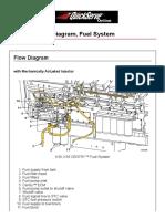 Cummin C1100 Fuel System Flow Diagram