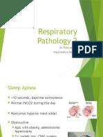05 - Respiratory Pathology 2 (25 Min)