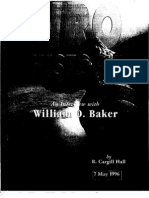 NRO Oral History - William O. Baker