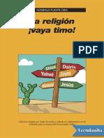 La Religion Vaya Timo - Gonzalo Puente Ojea
