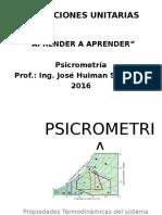 25 PSICROMETRIA Clases 36 Diapositivas