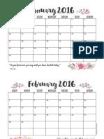 planificador AÑO 2016
