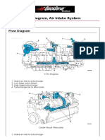 Cummin C1100D5B Flow Diagram Air Intake System