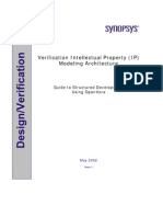 Verification Intellectual Property (VIP) Modeling Architecture