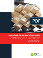 How mCaaS-Digital Query Assistant is Redefining the Customer Experience