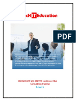 SQL Server DBA Training Bangalore