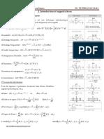 Analyse Et Filtrage Des Signaux Numériques_résumé_Chapitres 1&2&3&4