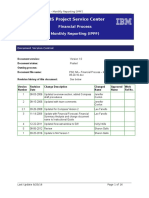PSC NA - Financial Process - Monthly Reporting (IPPF) v1 09-20-16
