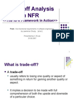 Trade-off Analysis in NFR