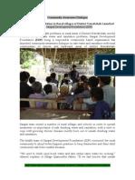 Sangat Sindh Report on Community Led Total Sanitation 3