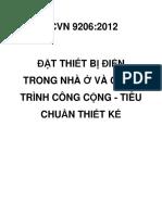 TCVN 9206 2012 Dat Thiet Bi Dien Trong Nha Va Cong Trinh Cong Cong Tieu Chuan Thiet Ke