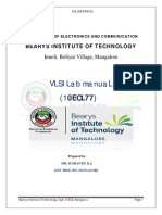 VLSI Lab Record
