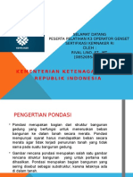 Pondasi Mesin Diesel & Generator.pptx