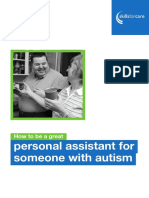 How to Be a Great Personal Assistant for Someone With Autism