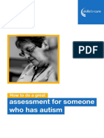 How to Do a Great Assessment for Someone With Autism