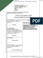 Joanne Siegel et al v. Warner Bros Entertainment Inc et al - Document No. 281