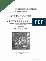 Catalogus van de muntverzameling [van het] Koninklijk Oudheidkundig Genootschap