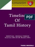 Timeline of Tamil History