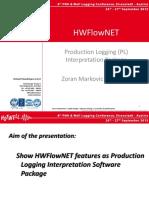 HWFlowNET Production Logging Interpretation Package - ZMarkovic