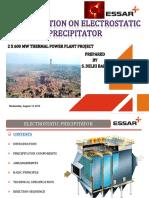 2x600 MW Electrostatic-Precipitator
