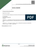 Decreto 1286/2016
