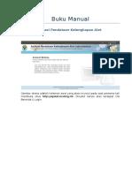 Manual book dinas