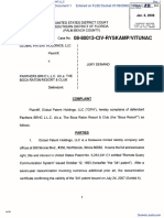 Global Patent Holdings, LLC v. Panthers BRHC LLC - Document No. 1