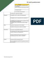Copy of Five S Audit
