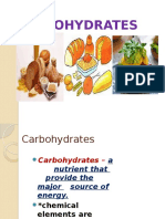 Carbohydrates Fiber Sugar