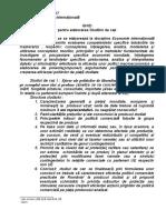2. Ghid Studii de Caz Economie Internațională
