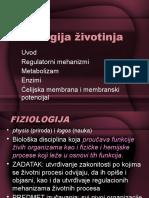 001 Fiziologija Zivotinja - Uvod 2016
