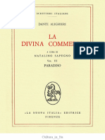 Dante, Commedia, Paradiso
