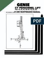 Genie lift Operation & Maintenance.pdf