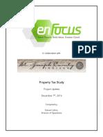 Property Tax Study Update