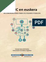 Las TIC en euskera