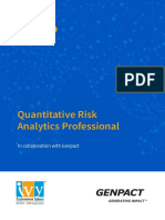 Quantitative Risk Analysis Program by Ivy Professional School